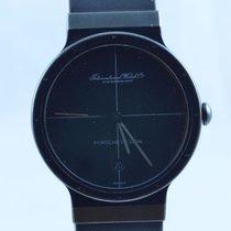 Porsche Design Damen Uhr 32mm Stahl/stahl Rar Mit Kautschuk...