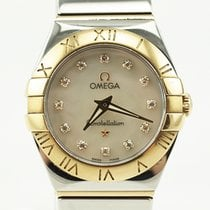 Omega Ladies Constellation 18k Diamond Dial