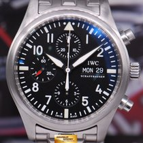 IWC Pilot's Chronograph 42mm Day-date Iw-3777 Automatic (near...
