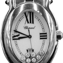 Chopard Women's Happy Sport Oval Mother-of-pearl Dial...