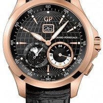 Girard Perregaux Traveller Large Date Moonphase GMT Automatic...