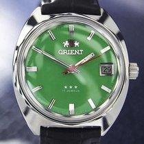Orient 1968 Manual Wind Rare Men's Vintage 17 Jewel...
