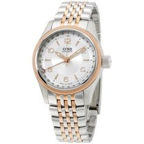 Oris Silver Dial Two Tone Stainless Steel Men's Watch...