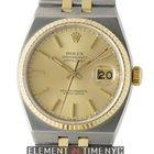 Rolex Datejust OysterQuartz 2Tone 36mm Chronometer Ref. 17013