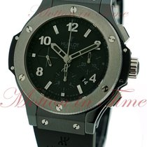 "Hublot Big Bang 44mm ""Ice Bang"", Black Dial, Tungsten..."