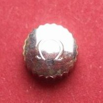Omega Krone in Stahl, Ø 6,50mm, Höhe 3,65mm, Gewinde 0,9mm,...