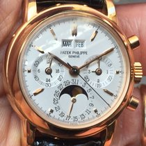 Patek Philippe Perpetual Calendar Chronograph 3970E Rose Gold...