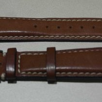 Alfred Dunhill vintage brown leather strap mm 22 and steel buckle