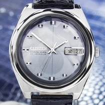 Citizen Crystal Seven Vintage Rare Stainless Steel Automatic...