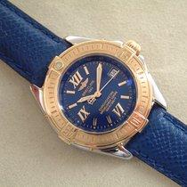 Breitling B - Class Stahl / Gold mit Goldlünette Chronometre...