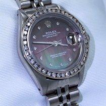 Rolex Datejust 0.95ct Diamond Bezel Tahitian Mop Dial Jubilee...