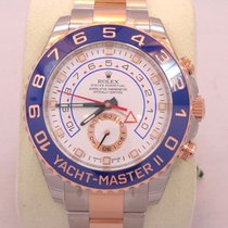Rolex Yacht Master II 116681 18k Rose Gold & Steel 44mm...