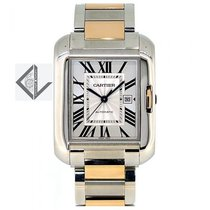 Cartier Tank Anglaise Big Size Steel And Rose Gold - W5310037