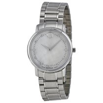 Movado TC Diamond Mother of Pearl Dial Stainless Steel Ladies...