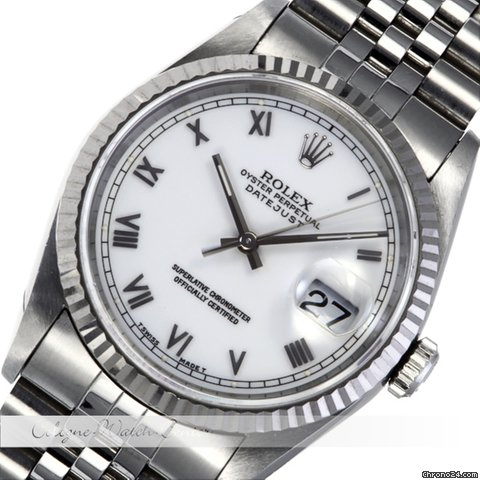 Rolex Datejust Stahl 16234