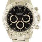 Rolex Daytona Men's Stainless Steel Watch with chronograph