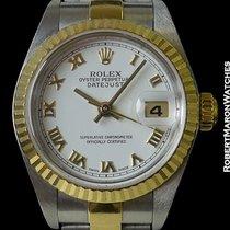Rolex 79173 Datejust 18k Yg & Stainless Fluted Bezel...