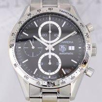TAG Heuer Carrera Date Chronograph Calibre 16 Steel bezel...