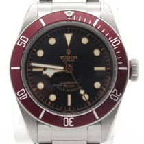 Tudor Heritage Black Bay 79220r On Bracelet Burgondy Bezel...