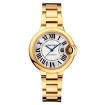 Cartier Ballon Bleu 33mm 18K Yellow Gold Watch UNWORN