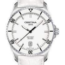 Certina DS First Lady Ceramic | Weiß