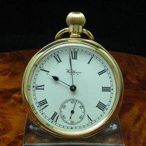 Waltham Gold Mantel Open Face Taschenuhr Von Ca. 1921