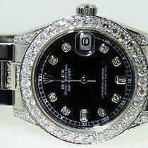 Rolex Midsize Ladies Datejust Watch Diamonds  Yr 2012