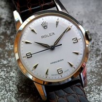 Just Beautiful 1960 Solid 9ct Gold Mid-size Rolex Precision...