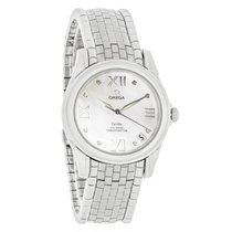 Omega DeVille Co-Axial Ladies Diamond Markers Automatic Watch...