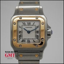Cartier Santos Galbee Stainless Steel & Gold