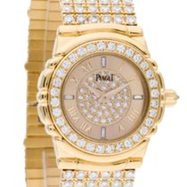 Piaget 16039M426 Tanagra Mens 24mm Quartz in Yellow Gold with...