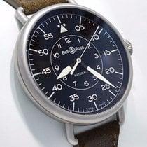 Bell & Ross Vintage Military Ww1-92 Steel Black Dial Mens...