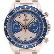 Tudor Heritage Chrono Blue Stahl Automatik Armband Stahl 42mm...