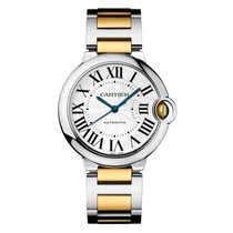 Cartier Ballon Bleu 36mm Steel & 18K Yellow Gold Watch