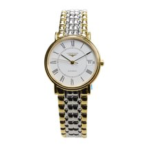 Longines Presence Pvd Gold White Automatic L4.821.2.11.7