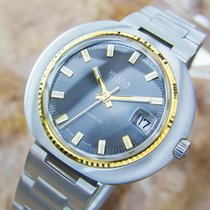 Bulla Rare Vintage Manual Swiss Made Stainless Steel Watch...