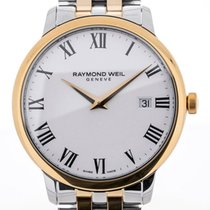 Raymond Weil Toccata 39 Stainless Steel Yellow Gold White Dial