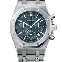 Audemars Piguet Royal Oak Chronograph 39mm dark blue 'Gran...