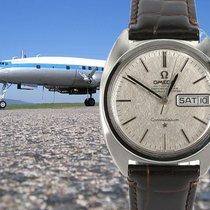 Omega Constellation 'C' Chronometer barrel shape case,...