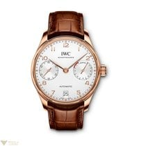 IWC Portuguese Automatic Red Gold 18K Silver Men's Watch