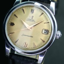 Omega Seamaster Automatic Date Steel Mens Watch  Original Dial