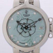 Tudor Clair de Rose Stahl Automatik Diamond 34mm