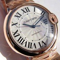 Cartier Medium 18k Pink Gold Ballon Bleu Roman Dial Bracelet...