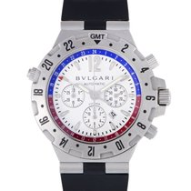 Bulgari Diagono Professional GMT Mens Automatic Watch 40SVD.FB