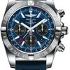 Breitling Chronomat 44 GMT Stainless Steel on Diver Pro II...