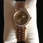 Rolex Oyster Perpetual Datejust 18k Gold Diamond Dial Bezel...