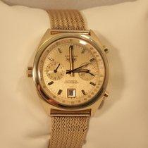 Heuer Carrera 18 Karat Gold Automatic Chronograph seltene Uhr