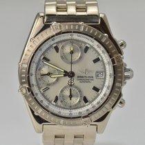 Breitling Chronomat 18K White Gold MOP Dial Chronograph Ref...