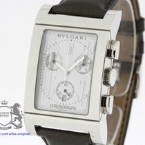Bulgari Rettangelo Chronograph NEW in Box Ref. RTC49S (1450)