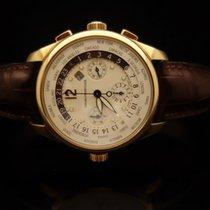 Girard Perregaux Cronografo Ore del mondo Ref. 4980 Oro Giallo